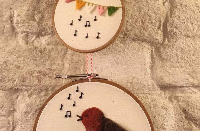Robin singt